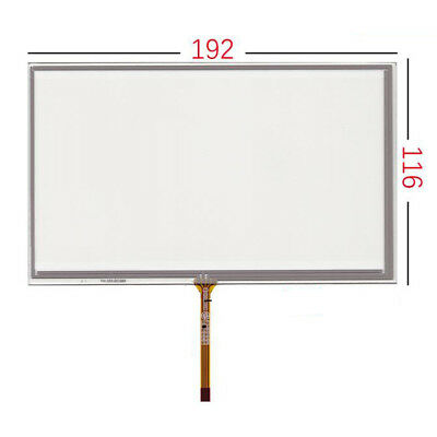 "8"" 4 Wires Resistive Touch Panel Digitizer glass For HSD080IDW1 AT080TN03 New"