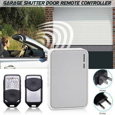 Tubular Motor Shutter Controller Garage Door Remote Electric Gate Controller Set