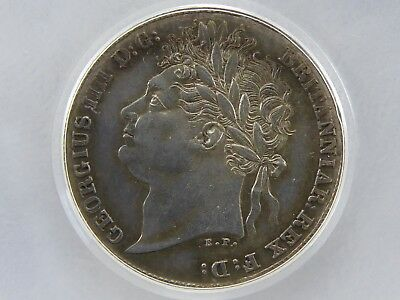 1824 SIXPENCE UNC or near so, Graded & Encapsulated LCGS 75, MS62-63 (ESC 1657)