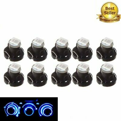 10x T3 1SMD 1210 For Car LED Bulbs Instrument Lamp Interior Light Blue