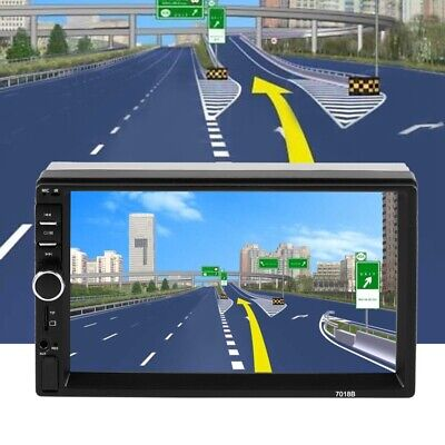 """7"""" 2Din Touch Screen Car MP5 Player Bluetooth Stereo FM Radio USB/TF AUX In F8G9"""