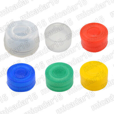 10, 20 pc Clear Boot Cover for 22mm Push Button - Round Momentary XB2 Silicone
