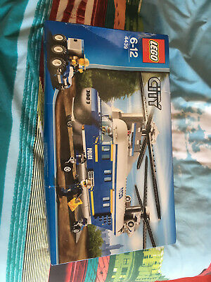Lego City Police Heavy Lift Helicopter 4439 Instructions - The Best ...