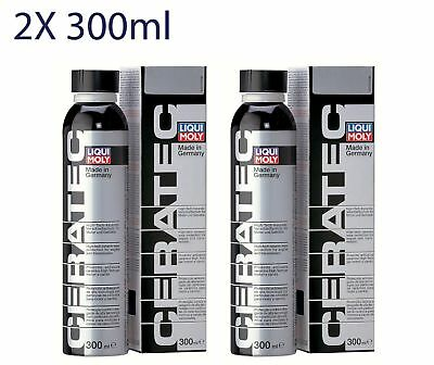 2x Liqui Moly Cera Tec CERATEC Ceramic Wear protection reduces friction 300ml