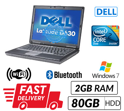 Cheap Dell Laptop Windows 10 DVD Intel Core2Duo@2.0Ghz WIFI FREE & FAST SHIPPING