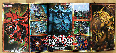 Spielbrett Board Yu-Gi-Oh! LC01 Legendary Collection Obelisk Slifer Ra Götter NM