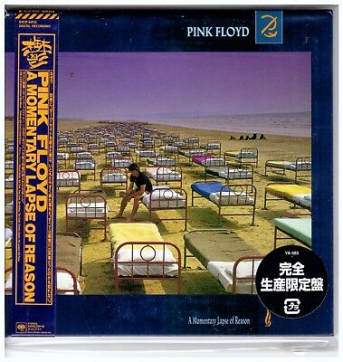 Pink Floyd , A Momentary Lapse of Reason [Cardboard Sleeve (mini LP)] - Japan -
