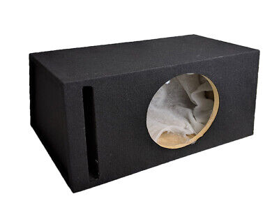 "12"" Inch 30cm Ported Car Audio Subwoofer Empty MDF Bass Box Enclosure Heavy Duty"