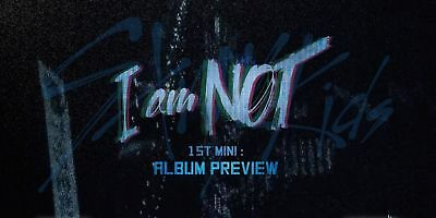 [Pre-Order] Stray Kids - I Am Not, 1St Mini: Full Package + Poster, Tracking Num