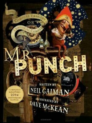 The Comical Tragedy or Tragical Comedy of Mr Punch by Neil Gaiman 9781408869741