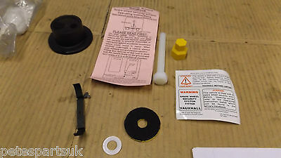 New Genuine Vauxhall Anti Theft Spare Wheel kit & Handbook   93183887     V10