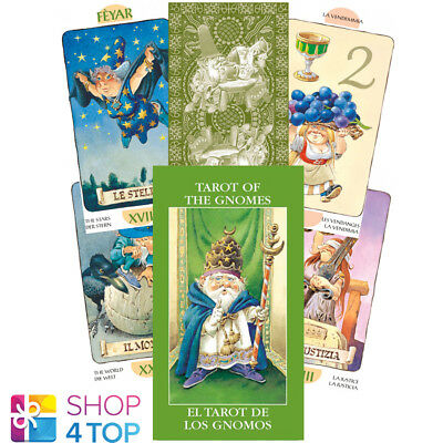 Mini Tarot Of The Gnomes Cards Esoteric Fortune Telling Lo Scarabeo New