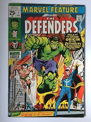 Marvel Feature #1, the Defenders, F condition
