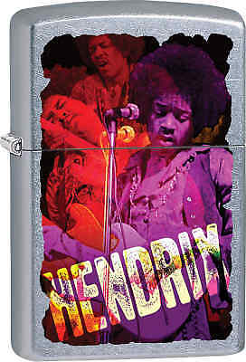 Zippo Classic Hendrix Street Chrome Windproof Lighter Z608