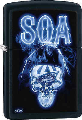 Zippo Classic SOA Black Matte Windproof Lighter 29317