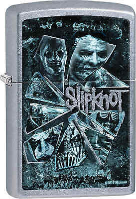 Zippo Classic Slipknot Street Chrome Windproof Lighter 28992