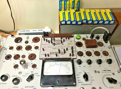 4 x 6N3P-DR =2C51 =6385 = ECC42 Russian Double Triode Tubes NEW IN BOX SAME DATA