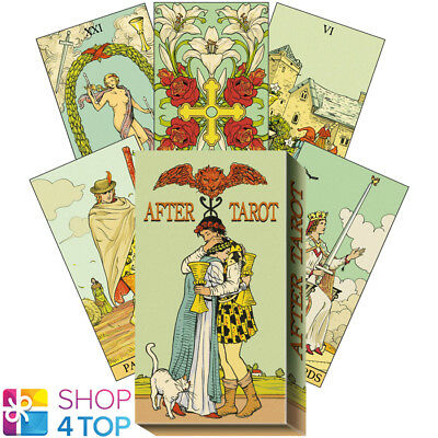 After Tarot Deck Cards Lo Scarabeo Massaglia Esoteric Fortune Telling New