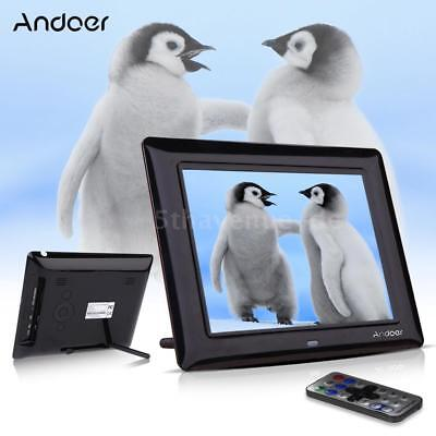 "8""HD TFT-LCD Digitaler Bilderrahmen MP3/4 Player mit Remote Desktop schwarz C8Q0"