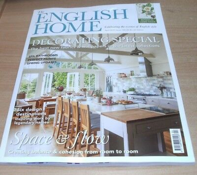 The English Home magazine APR 2018 Decorating Special, Spa Bathrooms, Balance &