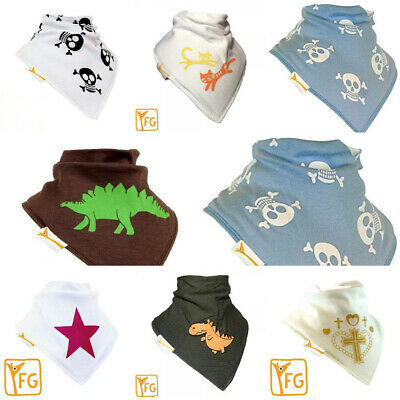 Funky Giraffe Baby Toddler Bandana Bib 100% Cotton  Dribble Dry NEW DESIGNS