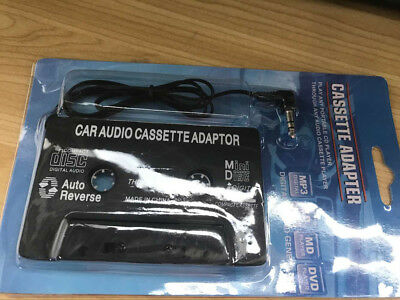 Car Audio Cassette Tape Adapter Transmitters 3.5mm AUX  for MP3 IPod CD MD Phone