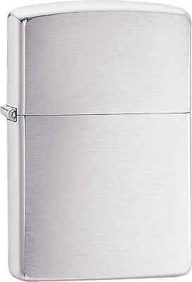 Zippo Classic Brushed Chrome Windproof Lighter 200