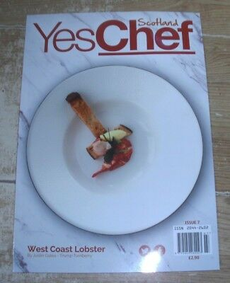 Yes Chef Scotland magazine #7 2018 Essential Tools, Guide to Wine, Knock Castle