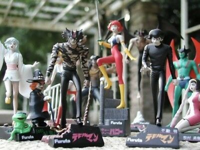 9 Figure Gashapon Collection Go Nagai (normal 8 + secret) by Furuta Devilman Jp