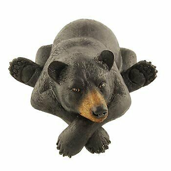 Black Bear Shelf Sitter Figure