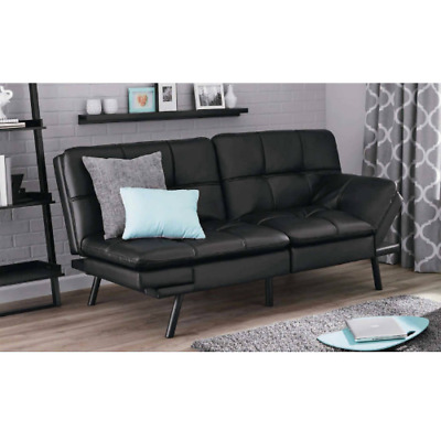 Tremendous Leather Futon Couch Sleeper Sofa Loveseat Convertible Camellatalisay Diy Chair Ideas Camellatalisaycom