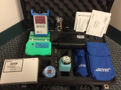 NEW NOYES TEST KIT / OPM4-4D METER / HiLITE VFL / OFS300-200C SCOPE / CLETOP