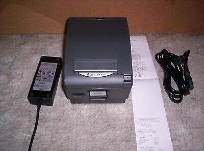 Star TSP700II Thermal Receipt Printer with PS & Ethernet TSP743II Guaranteed