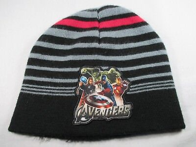 875b477b436 Avengers Captain America Hulk Thor Iron Man Marvel Youth Beanie Cap Hat  Great