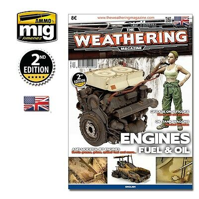 Ammo MiG 4503 - The Weathering Magazine No: 4 - 2. Edition - Engines Fuel & Oil