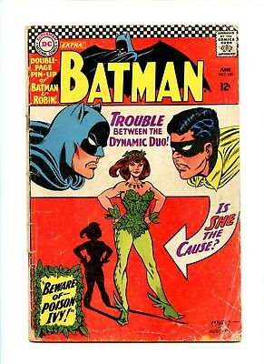 Batman #181 (Jun 1966, DC) First appearance of Poison Ivy! Silver Age Key!