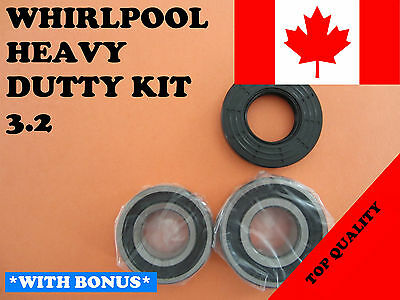 FRONT LOAD WASHER,2 TUB BEARINGS AND SEAL,Whirlpool KIT # 3.2,