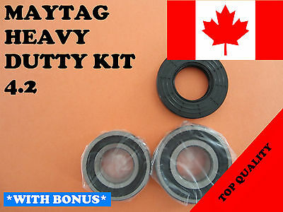 FRONT LOAD WASHER,2 TUB BEARINGS AND SEAL, Maytag,Amana, KIT # 4.2
