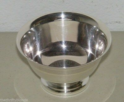 Vintage Reed and Barton Paul Revere Design Silver Plated SmallBowl