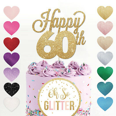 Magnificent Happy 60Th Birthday Cake Topper Sixty Daughter Son Sister Brother Funny Birthday Cards Online Alyptdamsfinfo