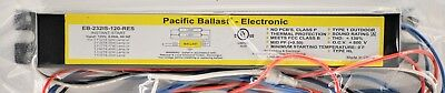 EB-232IS-120-RES Fluorescent 1-2 Lamp 40W Max Pacific Ballast Free Shipping!
