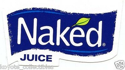 Naked Juice Sticker - Decal - Healthy Living Health