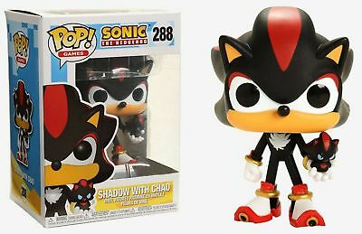 Funko Pop! Games Sonic The Hedgehog Shadow With Chao #288