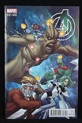 Avengers # 32; Vol.5 Guardians of The Galaxy Variant NM (September 2014)