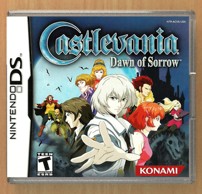 Castlevania Dawn of Sorrow DS Custom Replacement CASE (*NO GAME*)