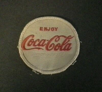 "Coca cola  3"" employee patch"