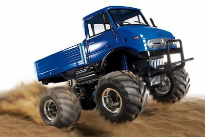 Tamiya 1/10 RC Unimog 406 Wheelie Blue CW01 Series U900 Kit 84320