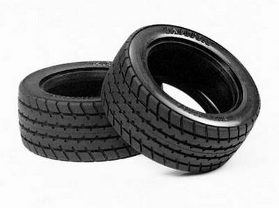 Tamiya M-Chassis 60D Radial Tires (2pcs) For M01/M02/M03/M04/M05/M06 50683