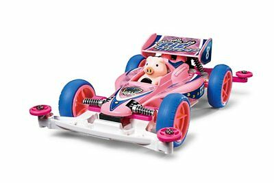 Tamiya 1/32 Mini 4WD JR Pig Racer Super II Chassis 18089 Kit