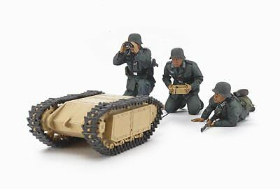 Tamiya 1/35 Military German Assault Pioneer Team w/Goliath Kit Set 35357